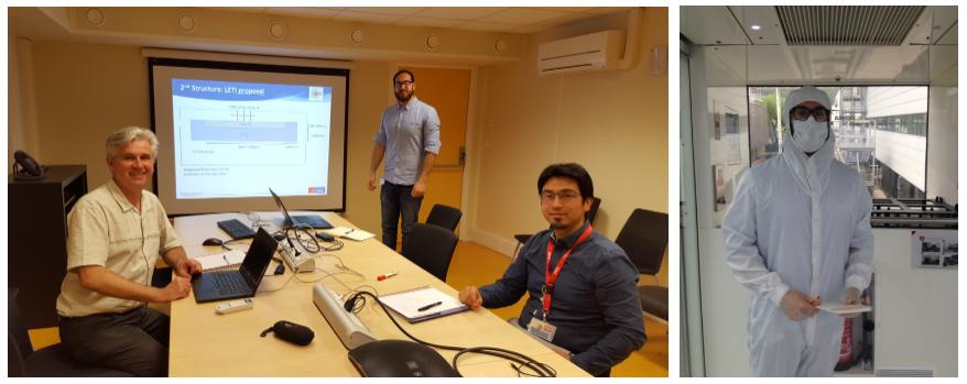 CAPPA PhD Student Visits CEA-Leti - CAPPA