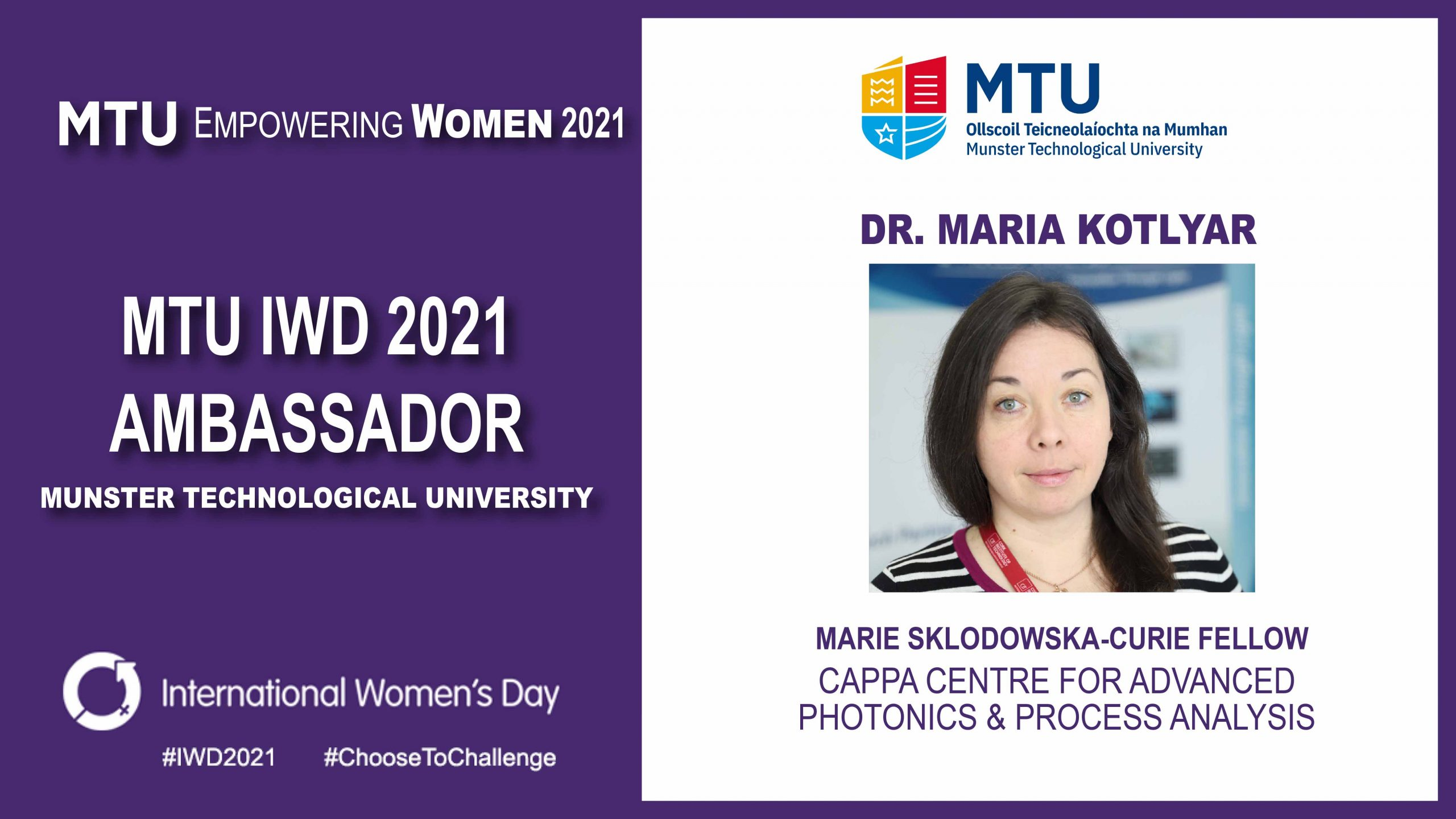 International Women's Day 2021 - CAPPA