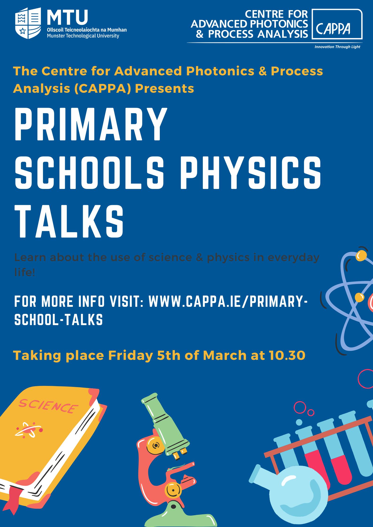 Primary School Physics Talks - CAPPA