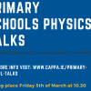 Primary School Physics Talks